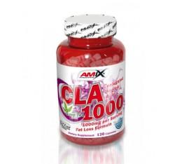 Amix - CLA 1200 + Green Tea / 120caps. Хранителни добавки, Отслабване, CLA