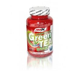 Amix - Green Tea Extract with Vitamin C / 100 caps. Хранителни добавки, Антиоксиданти, Отслабване