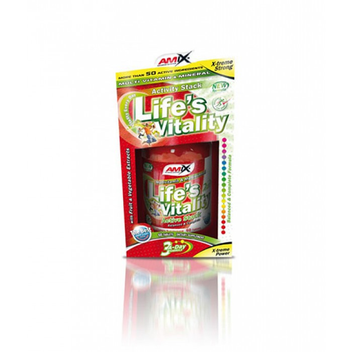 Amix - Life's Vitality Active Stack / 60tabs.