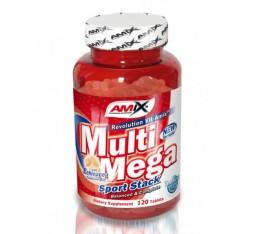 Amix - Multi Mega Stack / 120 tabs. Хранителни добавки, Витамини, минерали и др., Мултивитамини