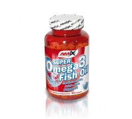 Amix - Super Omega 3 Fish Oil / 90 softgels Хранителни добавки, Витамини, минерали и др.