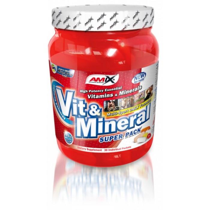 Amix - Super Vit-Mineral Pack / 30 packs.
