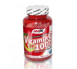 Amix - Vitamin C (with Rose Hips) / 100caps x 1000mg.
