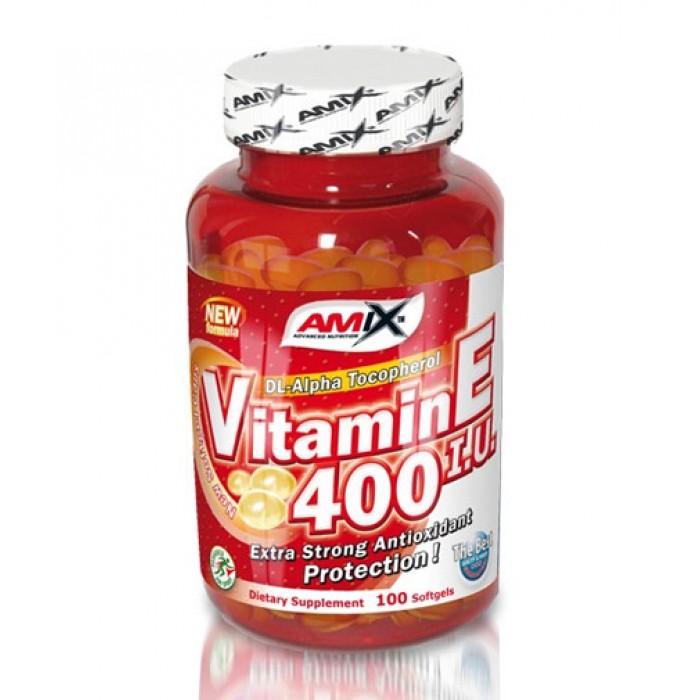 Amix - Vitamin E 400 IU / 100tabs.