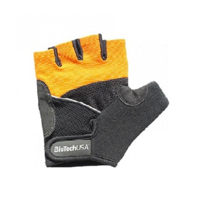 Фитнес Ръкавици - BIOTECH USA Athens Gloves / Black-Orange