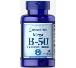 Puritan's Pride - Vitamin B-50 / 100 таблетки