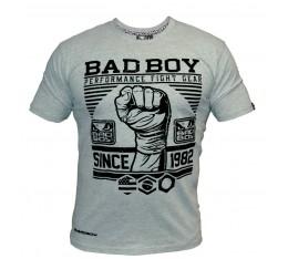 Bad Boy - Тениска - First Design Tee / Сив цвят Спортни облекла и Дрехи, Тениски, Хранителни добавки на промоция