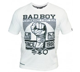 Bad Boy - Тениска - First Design Tee / White​