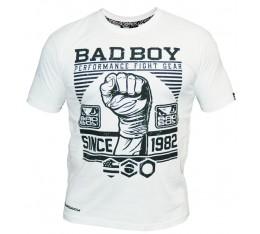 Bad Boy - Тениска - First Design Tee / White Спортни облекла и Дрехи, Тениски, Хранителни добавки на промоция