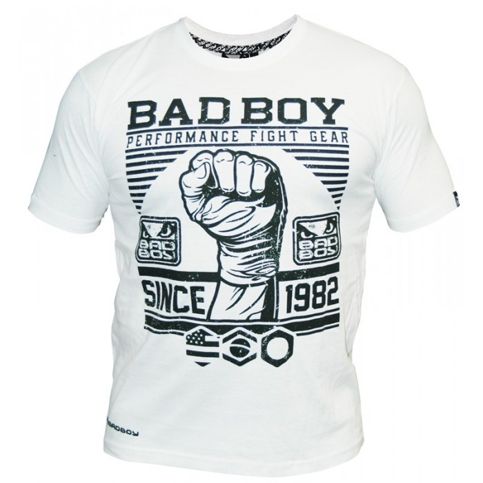 Bad Boy - Тениска - First Design Tee / White