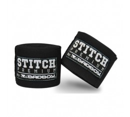 Бинтове за Бокс - BAD BOY STITCH PREMIUM HAND WRAPS / BLACK 5м.​