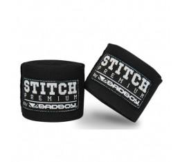 Бинтове за Бокс - BAD BOY STITCH PREMIUM HAND WRAPS / BLACK 5м. Бинтове