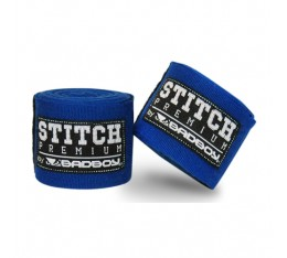 Бинтове за Бокс - BAD BOY STITCH PREMIUM HAND WRAPS / BLUE 5 м.​