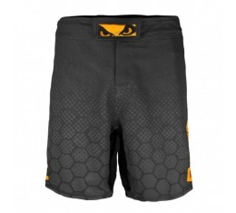 Шорти - BAD BOY LEGACY III SHORTS - Black / Orange​