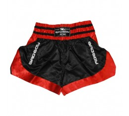 МУАЙ ТАЙ ШОРТИ - BAD BOY DTAA MUAY THAI SHORTS / BLACK - RED​