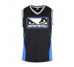Потник - BAD BOY ICON JERSEY / BLACK-BLUE Тениски