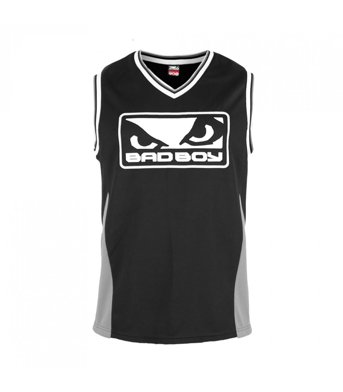 Потник - BAD BOY ICON JERSEY / BLACK-GREY​