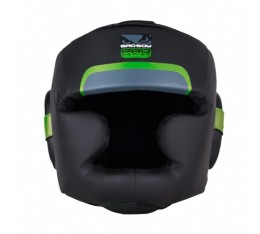 ПРОТЕКТОР ЗА ГЛАВА /КАСКА/ - BAD BOY PRO SERIES 3.0 FULL FACE GUARD / BLACK-GREEN​