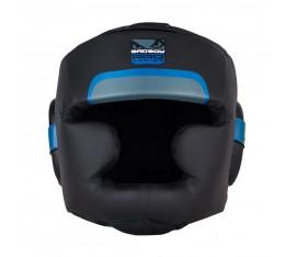 Протектор за глава /каска/ - BAD BOY PRO SERIES 3.0 FULL FACE GUARD / Black-Blue Протектори за глава