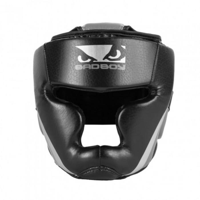 Протектор за глава /каска/ - BAD BOY TRAINING SERIES 2.0 HEAD GUARD / сив