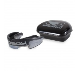 Протектор за уста - BAD BOY MULTI-SPORT MOUTH GUARD - Black / Grey​