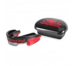 Протектор за уста - BAD BOY MULTI-SPORT MOUTH GUARD - Black / Red​