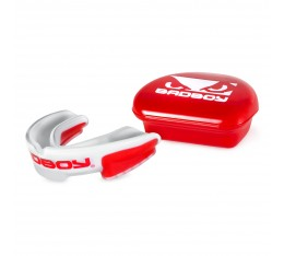 Протектор за уста - BAD BOY MULTI-SPORT MOUTH GUARD - White / Red​ Протектори за уста