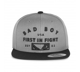 Шапка - BAD BOY FIRST IN FIGHT CAP / GRAY​ Шапки