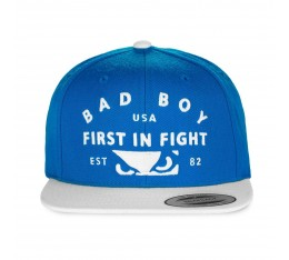 Шапка -  BAD BOY FIRST IN FIGHT CAP / ROYAL BLUE​
