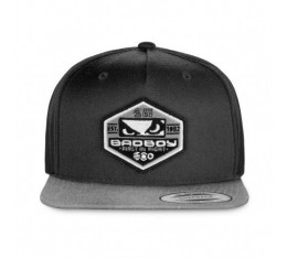 Шапка - BAD BOY GLOBAL CAP / GREY​