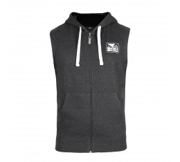 Суичър - BAD BOY CORE SLEEVELESS HOODIE / DARK - GREY​