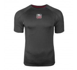 Тениска - BAD BOY X-TRAIN COMPRESSION T-SHIRT - SHORT SLEEVES / BLACK​ Тениски, Рашгарди