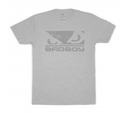 Тениска - BAD BOY GLOBAL WALKOUT T-SHIRT / LIGHT GREY - GREY​