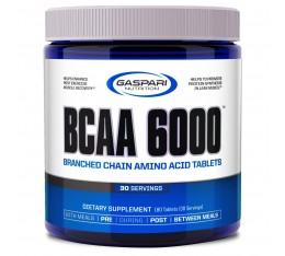 Gaspari - BCAA 6000 / 180 tab Хранителни добавки, Аминокиселини, Разклонена верига (BCAA), Хранителни добавки на промоция