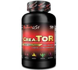 BioTech - CreaTOR / 120 caps Хранителни добавки, Креатинови продукти, Креатинови Матрици