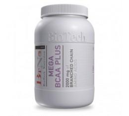 BioTech - Mega BCAA Plus / 100 tab Хранителни добавки, Аминокиселини, Разклонена верига (BCAA)