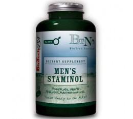 BioTech - Men's Staminol / 60 caps Хранителни добавки, Здраве и тонус, Здраве за мъжа