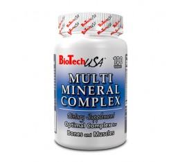 BioTech - Multi Mineral Complex / 100 tab Хранителни добавки, Витамини, минерали и др.