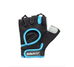 Фитнес Ръкавици - BIOTECH USA Budapest Gloves / Black-Blue​