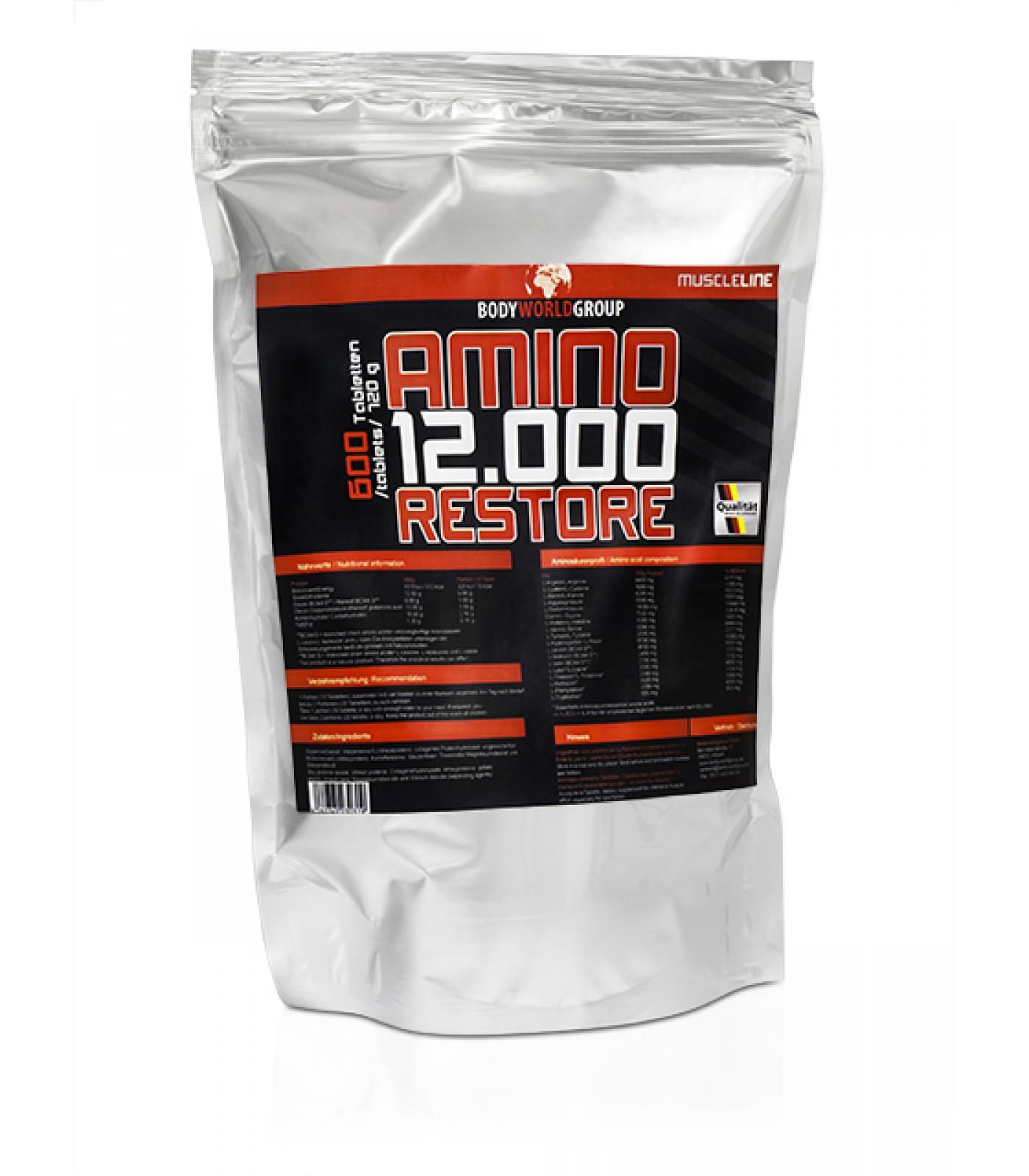 BWG - Amino Restore 12.000 / 600 tab