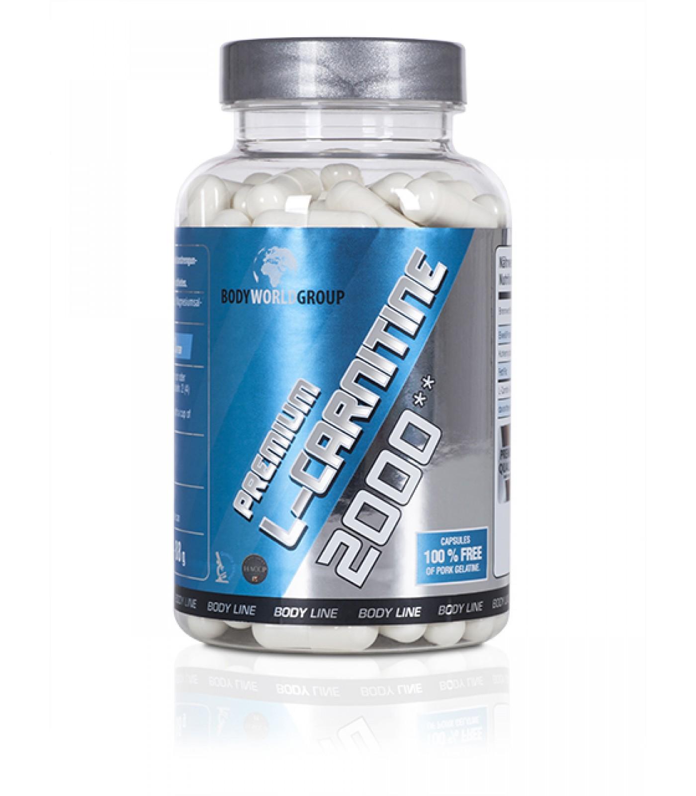 BWG - L-Carnitin 2000 mg Balance / 100 caps
