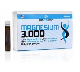 BWG - Magnesium 3000 / 20 amp. x 25ml. Хранителни добавки, Витамини, минерали и др., Магнезий