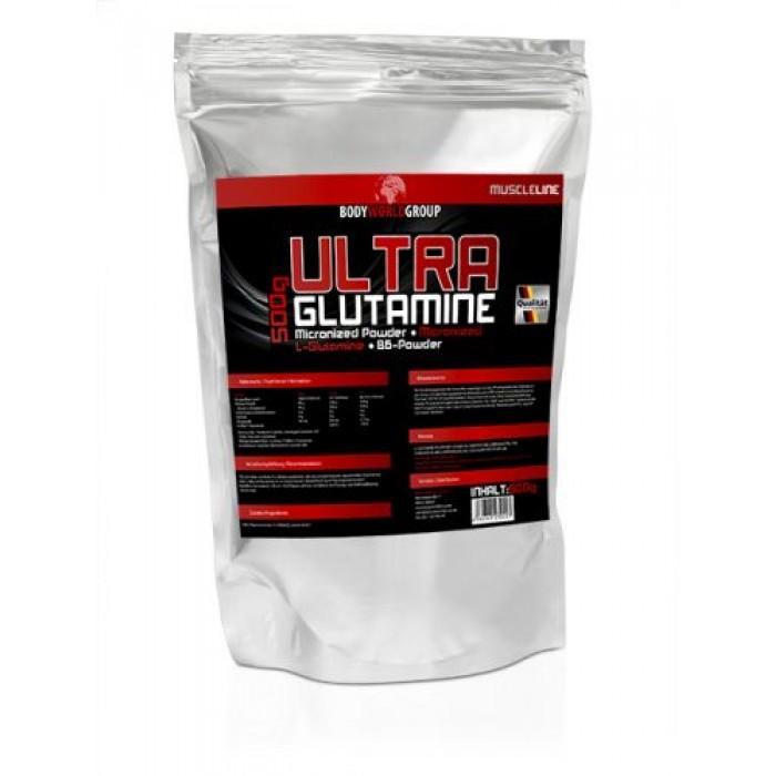 BWG - Ultra Glutamine + Vit. B6 / 500gr