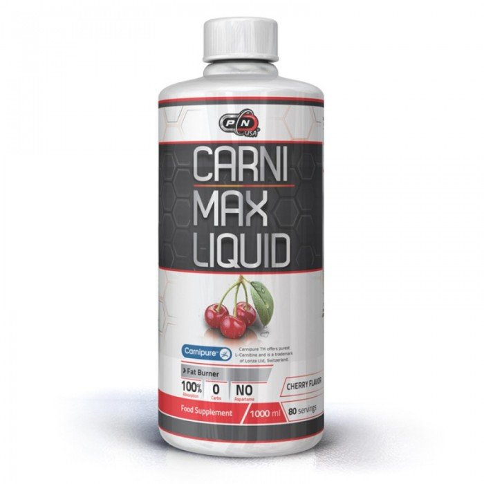 PURE NUTRITION - CARNI MAX LIQUID - 1000 ml.