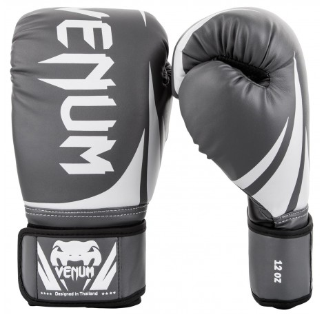 Боксови ръкавици - Venum Challenger 2.0 Boxing Gloves - Grey/White
