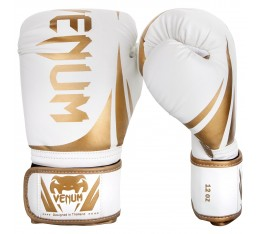 Боксови ръкавици - Venum Challenger 2.0 Boxing Gloves - White/Gold​