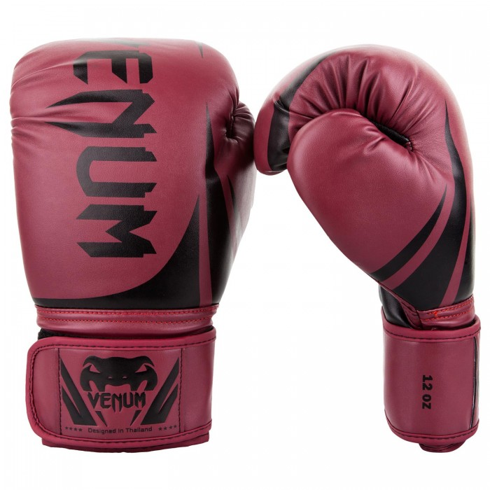 Боксови ръкавици - Venum Challenger 2.0 Boxing Gloves - Red Wine/Black​