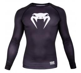 Компресираща блуза - Venum Contender 3.0 Compression T-shirt - Long Sleeves - Black / White