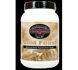 Controlled Labs - Gold Feast / 1352 gr Хранителни добавки, Гейнъри за покачване на тегло, Сила и възстановяване, Гейнъри