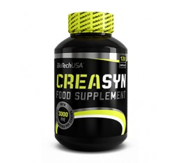 BIOTECH USA Creasyn  / 120caps Хранителни добавки, Креатинови продукти, Креатинови Матрици